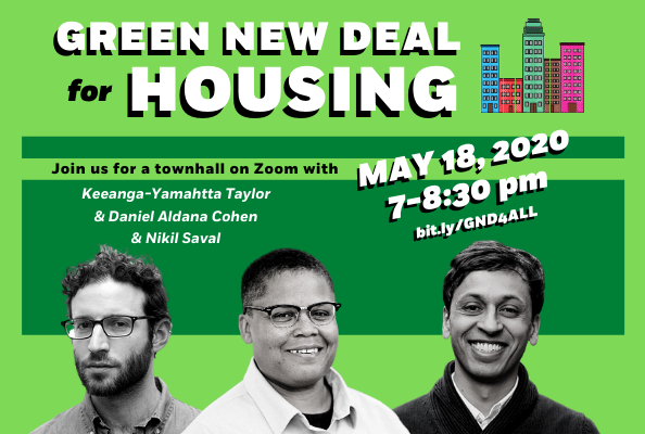 Green New Deal for Housing Town Hall